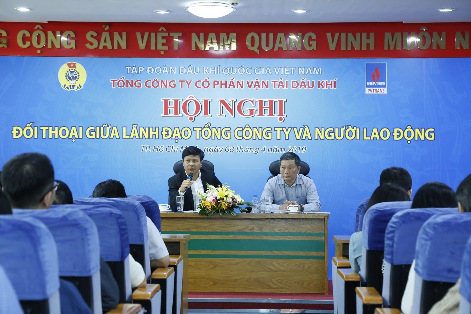 PVTrans tổ chức Hội nghị đối thoại người lao động năm 2019